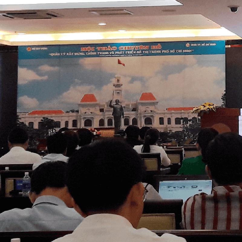Hội thảo triễn lảm chỉnh trang và phát triển đô thị HCM