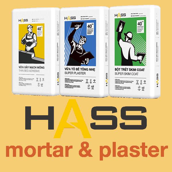 Hass mortar & plaster