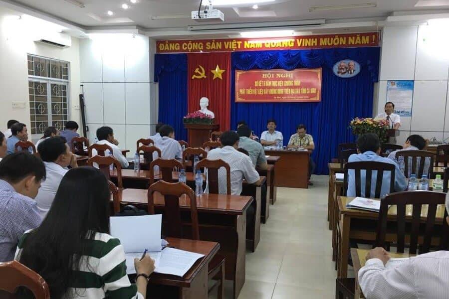 Hội nghị sơ kết 5 năm phát triển vật liệu không nung tỉnh Cà Mau 2010-2016