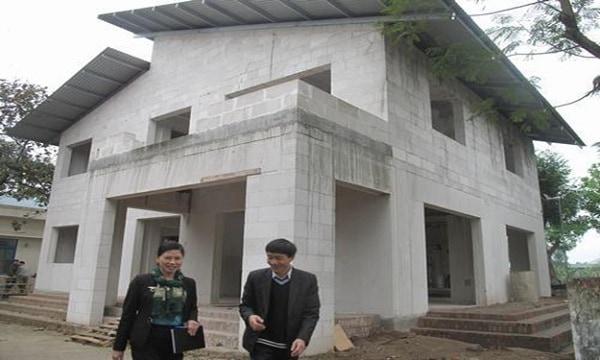 Xây nhà với gạch siêu nhẹ mang lại tiến độ công trình nhanh chóng