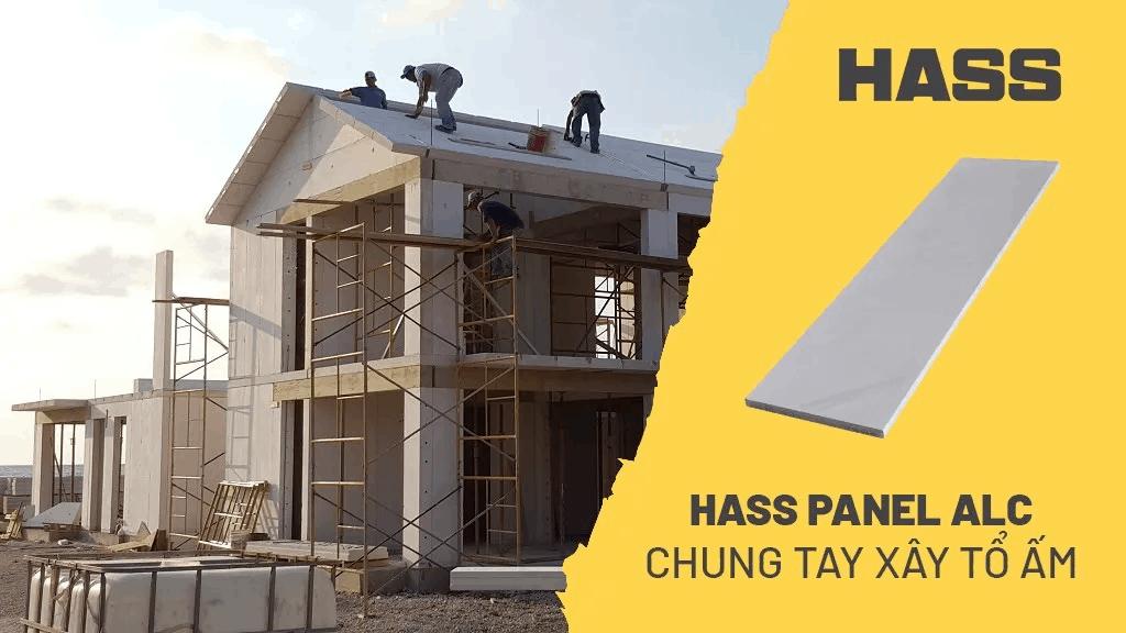 HASS panel bê tông chưng khí áp AAC