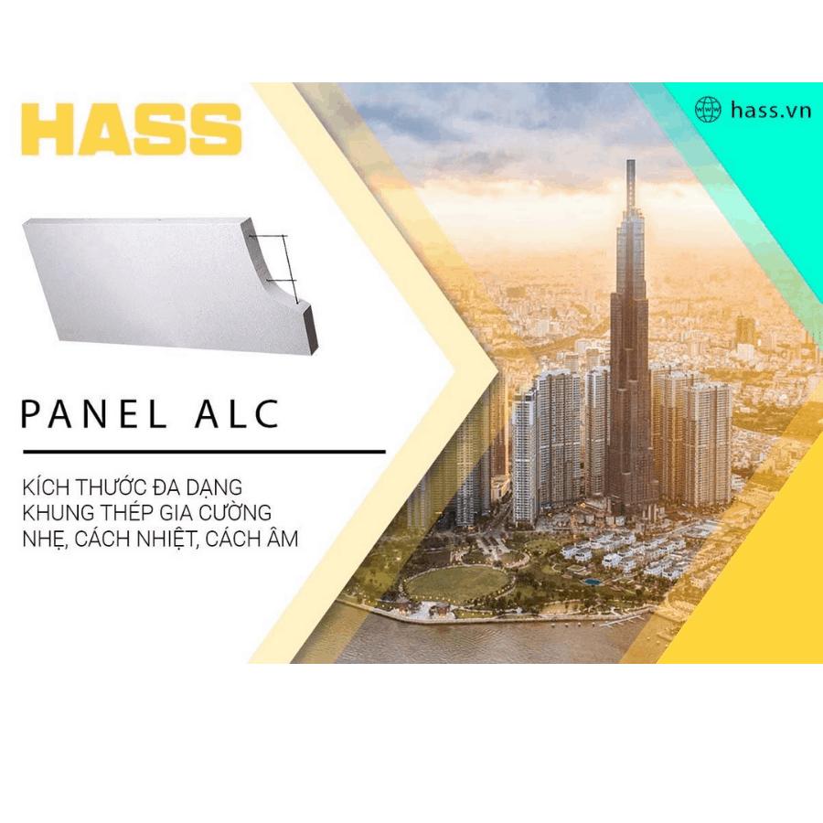 HASS hỗ trợ thi công tấm tường ALC